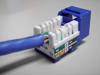 Cat5e or Cat6 Termination - Hawaii Network Cabling